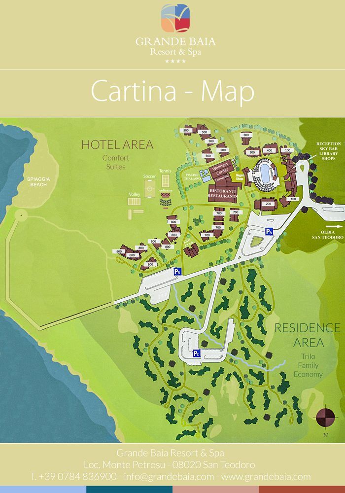 Cartina Di San Teodoro Sardegna.Come Raggiungere Il Grande Baia Resort San Teodoro